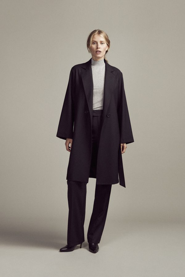 Coat Cecile Black