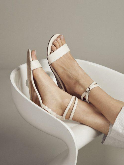 sandaal Elodie Offwhite