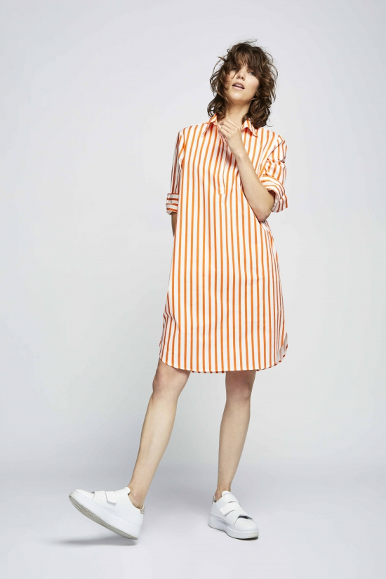 Dress Poitou Stripe